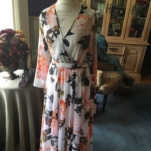 NWT Enfocus Maxi dress floral